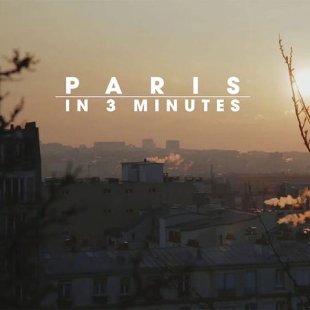 Parisul în 3 minute