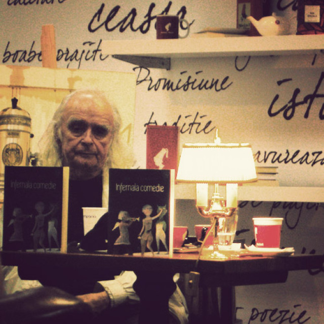 "Cum s-a auzit ""Infernala comedie"" la Bookfest 2015"