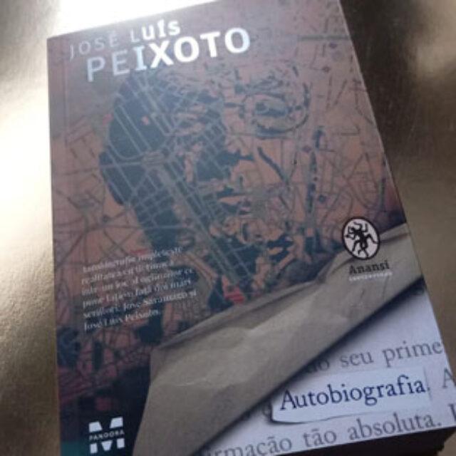 """""""Autobiografia"""", de José Luís Peixoto: magie pe hârtie"""